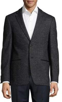 John Varvatos Notch Buttoned Jacket