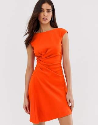 Closet London Closet asymmetric front dress