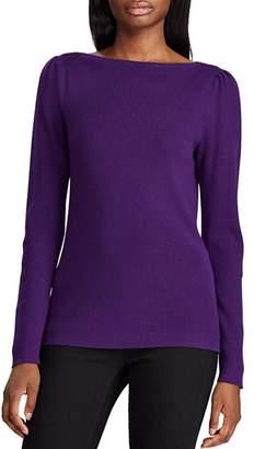 Ralph Lauren Ribbed Boat-Neck Sweater