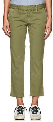 Nili Lotan Women's East Hampton Stretch-Cotton Twill Trousers