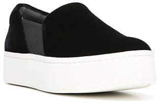Vince Warren Velvet Slide Platform Sneakers