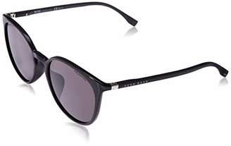 HUGO BOSS BOSS by Men's Boss 0990/f/s Polarized Oval Sunglasses