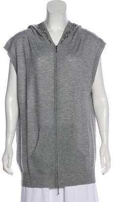 Thomas Wylde Embellished Cashmere Sweater w/ Tags