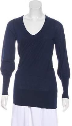 White + Warren Silk & Cashmere-Blend Lightweight Sweater