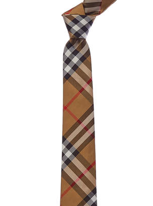 Burberry Modern Cut Vintage Check Silk Tie