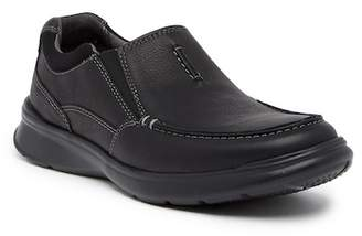 Clarks Cotrell Free Leather Slip-On Sneaker