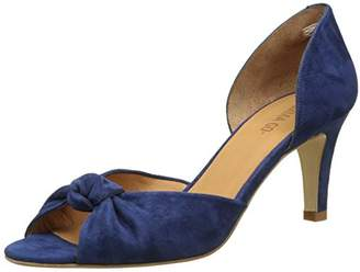 Emma.Go Emma Go Women's Camille Open-Toe Pumps Blue Size: