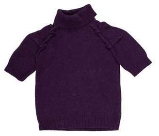 Little Marc Jacobs Girls' Turtleneck Knit Sweater