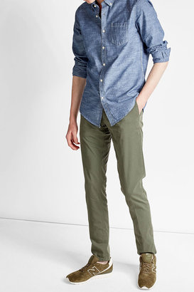Woolrich Chambray Shirt $119 thestylecure.com