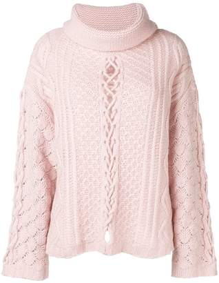 Circus Hotel detailed knit jumper