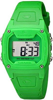 Freestyle (フリースタイル) - [フリースタイル]Freestyle スポーツウォッチ SHARK CLASSIC デジタル表示 ストップウォッチ・タイマー機能付き 10気圧防水 グリーン FS81263 メンズ 【正規輸入品】