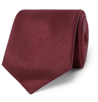 Mulberry Sulka 8cm Silk-Jacquard Tie