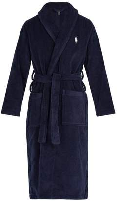 Polo Ralph Lauren Mid Weight Cotton Terry Robe - Mens - Navy