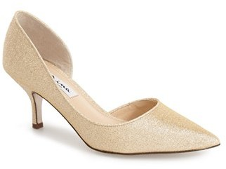Women's Nina 'Brynlee' Half D'Orsay Pump $68.95 thestylecure.com