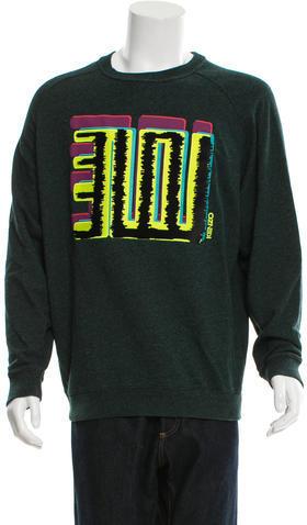 Kenzo Graphic Pullover Sweatershirt