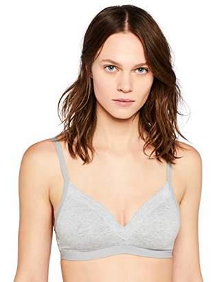Iris & Lilly Women's Body Natural Wireless Padded Bra