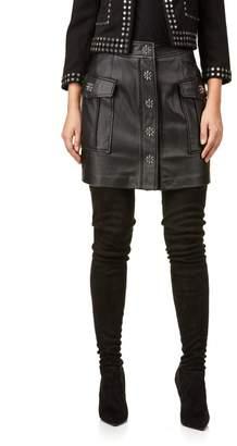 Michael Kors Flap Pkt A Line Skirt