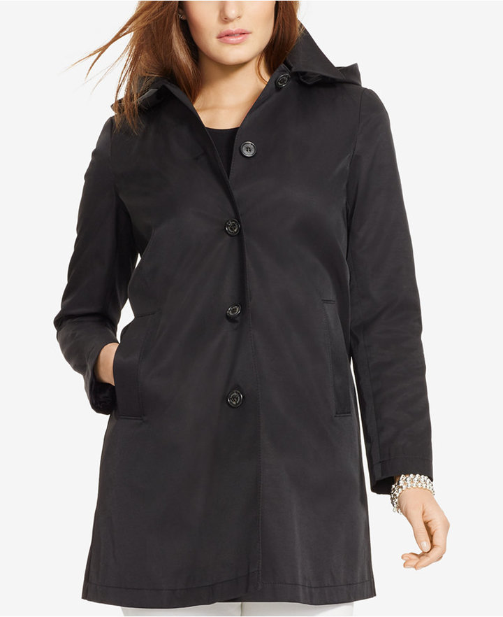 Lauren Ralph LaurenLauren Ralph Lauren Plus Size Hooded Trench Coat