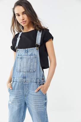 Pistola Denim Bailey Distressed Denim Overall