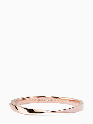 Kate Spade Do the twist hinged bangle