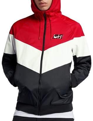 Nike Color-Block Hooded Windbreaker Jacket
