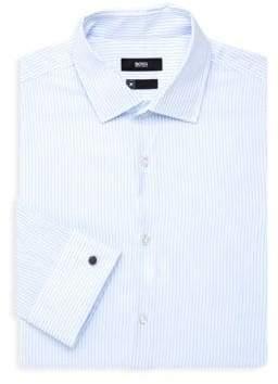 HUGO BOSS Regular-Fit Striped Dress Shirt