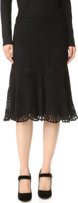 Derek Lam Embroidered Skirt $1,995 thestylecure.com