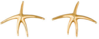 Tiffany & Co. 18K Starfish Earrings $745 thestylecure.com