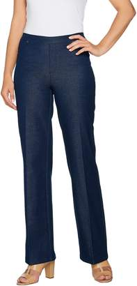 Halston H By H by Regular Studio Stretch Wide Leg Pull-on Pants