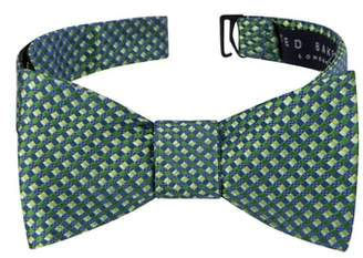 Ted Baker Parquet Square Silk Bow Tie