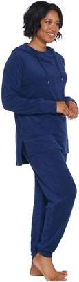 Anybody AnyBody Loungewear Baby Terry Hooded Sweatshirt