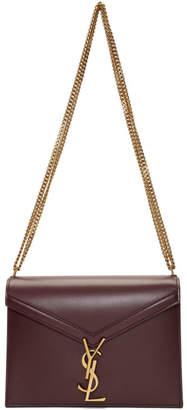 Saint Laurent Red Cassandra Envelope Bag