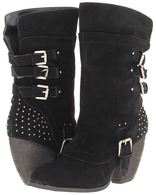 Naughty Monkey World Wide (Black) - Footwear
