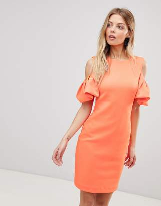Ted Baker Extreme Cut Out Shoulder Dress