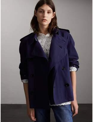 Burberry Unisex Tropical Gabardine Trench Jacket $1,595 thestylecure.com