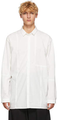Isabel Benenato White Patches Shirt