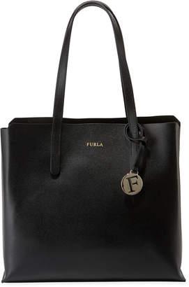 Furla Sally Medium Saffiano Leather Tote Bag