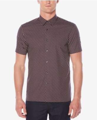 Perry Ellis Men's Classic-Fit Geo-Print Shirt