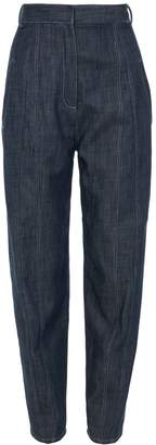 Tibi Raw Denim Easton Jean
