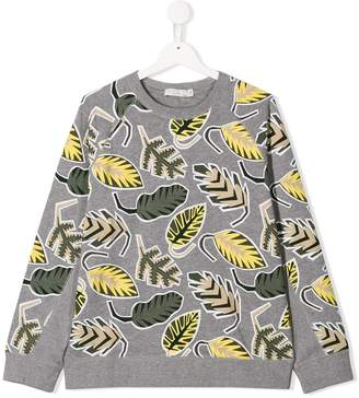 Stella McCartney floral sweatshirt
