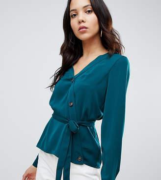 Vero Moda Tall Assymetric Button Through Blouse