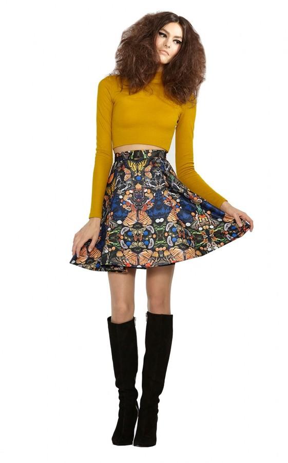 N.Y.L.A. Midlength Skirt