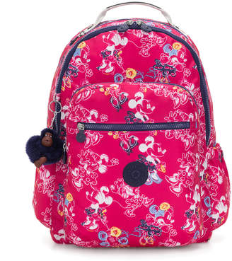 "Kipling Seoul Go Large Disney's Minnie Mouse and Mickey Mouse 15"" Large Laptop Backpack"