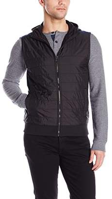 Kenneth Cole Reaction Men's Quilted Nylon Vest