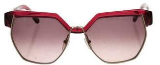 Chloé Tinted Square Sunglasses