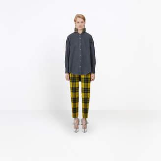 Balenciaga Lightweight twill denim shirt
