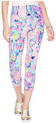 Lilly Pulitzer UPF 50+ Luxletic High-Rise Weekender Cropped Pant Women's Casual Pants