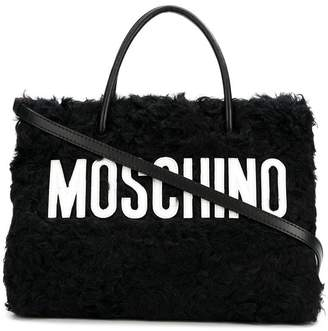 Moschino wool tote bag