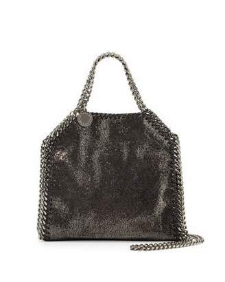 Stella McCartney Falabella Tiny Shoulder Bag, Dark Gray $775 thestylecure.com