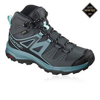 Salomon Women's X RADIANT MID GTX W, Hiking and Multipurpose Shoes, Waterproof